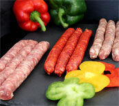 Assortiment saucisserie 3 chipos herbes / 3 chipos / 3 merguez (Porc) - Assortiment de saucisses et merguez. Idéal pour les barbecues