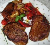 Filet de boeuf en marinade tex mex,Filet de boeuf en marinade tex mex